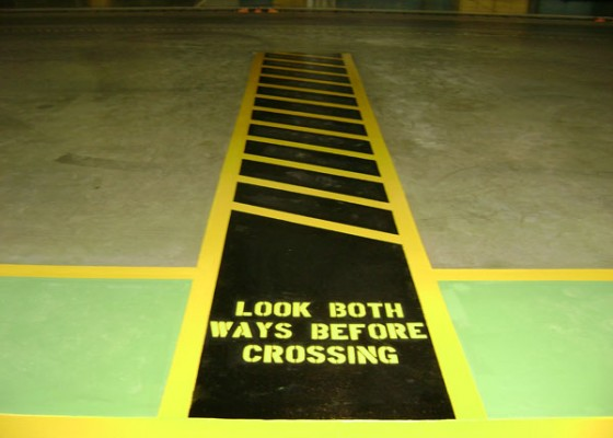 Auto Manufacturing Striping