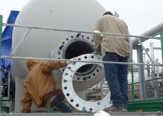 Large Oil Company Corrosion