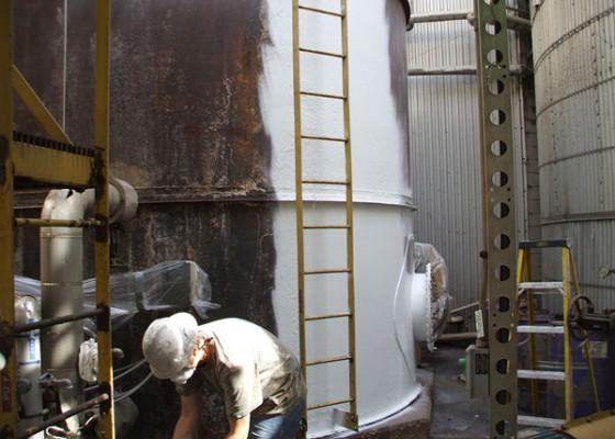 Paper Mill Tank Corrosion